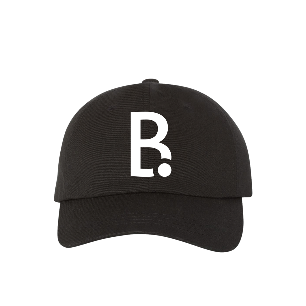 B Dot Logo Dad Caps
