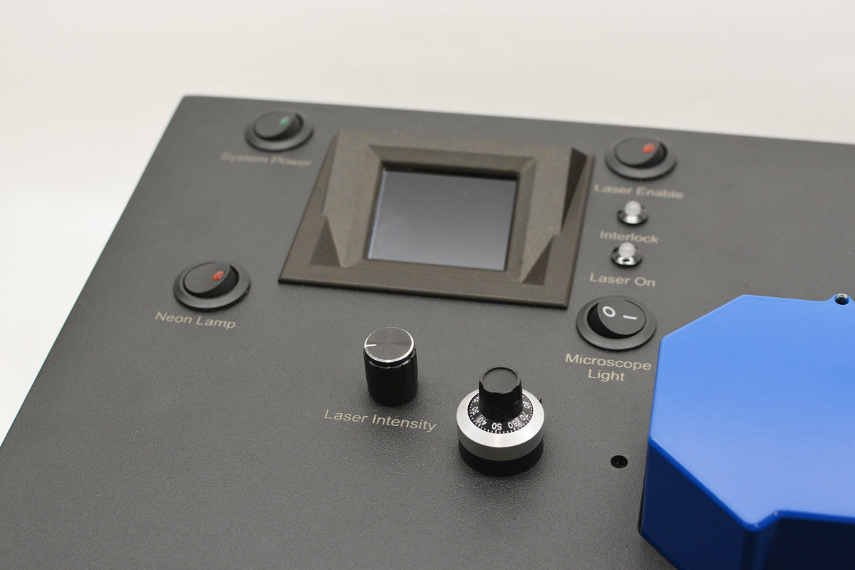 Photo of the Raman One's top-left controls