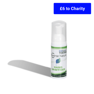 Reverse Nature™ Hand Sanitiser 60ml With Foaming Pump Head