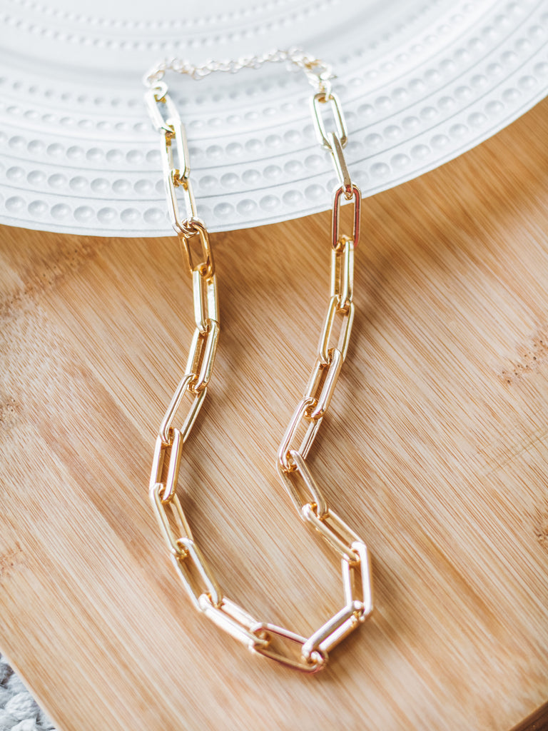 Gold Link Necklace