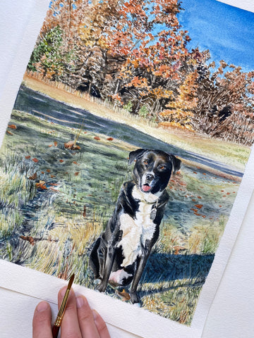 Mattingly Pet Portrait Commission