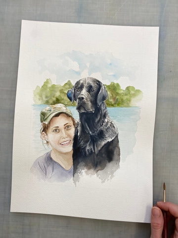 DuBois Pet Portrait Commission