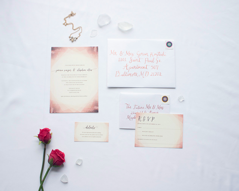 Singer Ellis Wedding Stationery