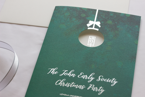 The John Early Society Christmas Party Invitation, 2015-2017