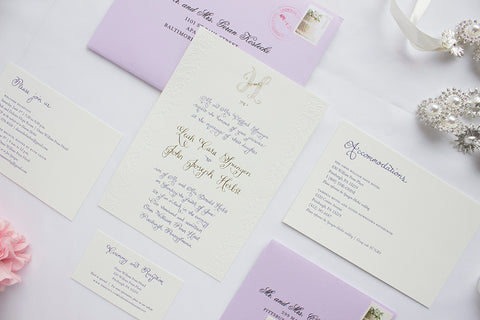 Herbst Spungen Wedding Stationery