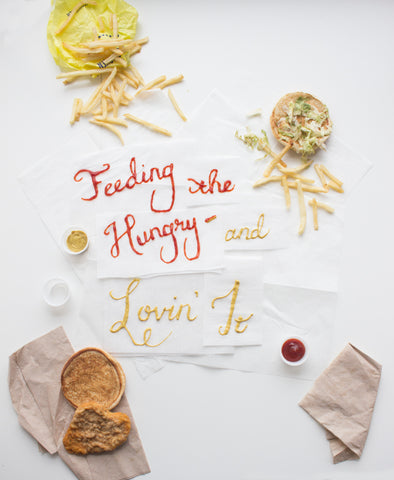Food-Made Lettering