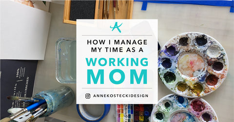How I Manage My Time As A Working Mom
