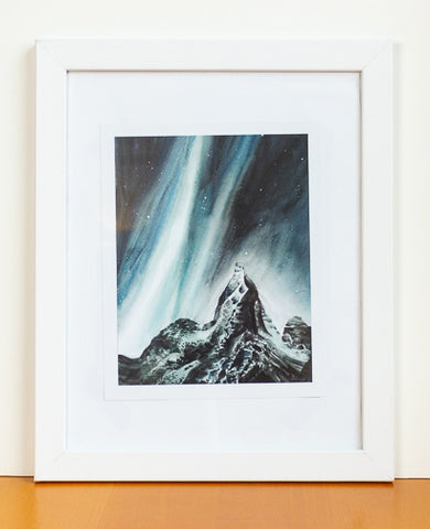 Ascent Watercolor Print