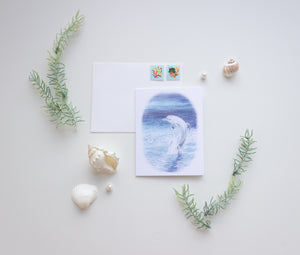 Watercolor Ocean Cards