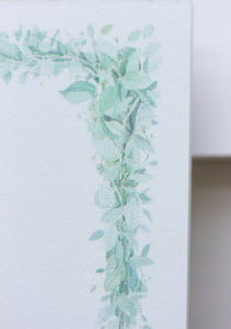 Eucalyptus Branch Notepad