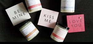 Valentine's Day Soy Candle Collection