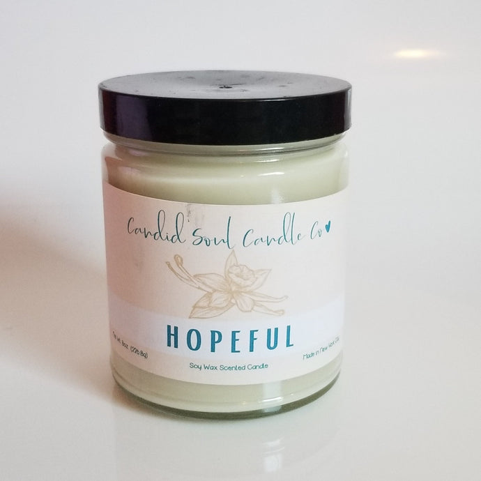 Smokey Vanilla  Candid Soul Candle Company Soy Wax Spring Collection