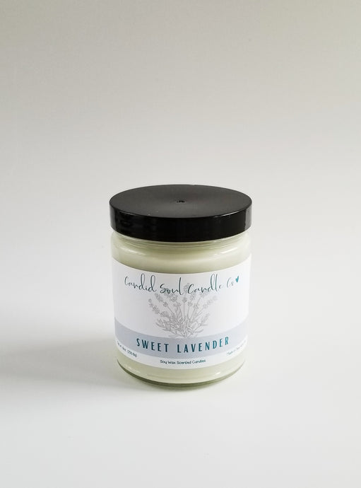 Sweet Lavender Soy Candle