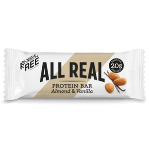 Load image into Gallery viewer, All Real Protein Bar: Almond & Vanilla 60g
