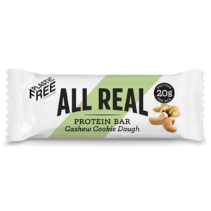 Load image into Gallery viewer, All Real Protein Bar: Cashew Cookie Dough 60g