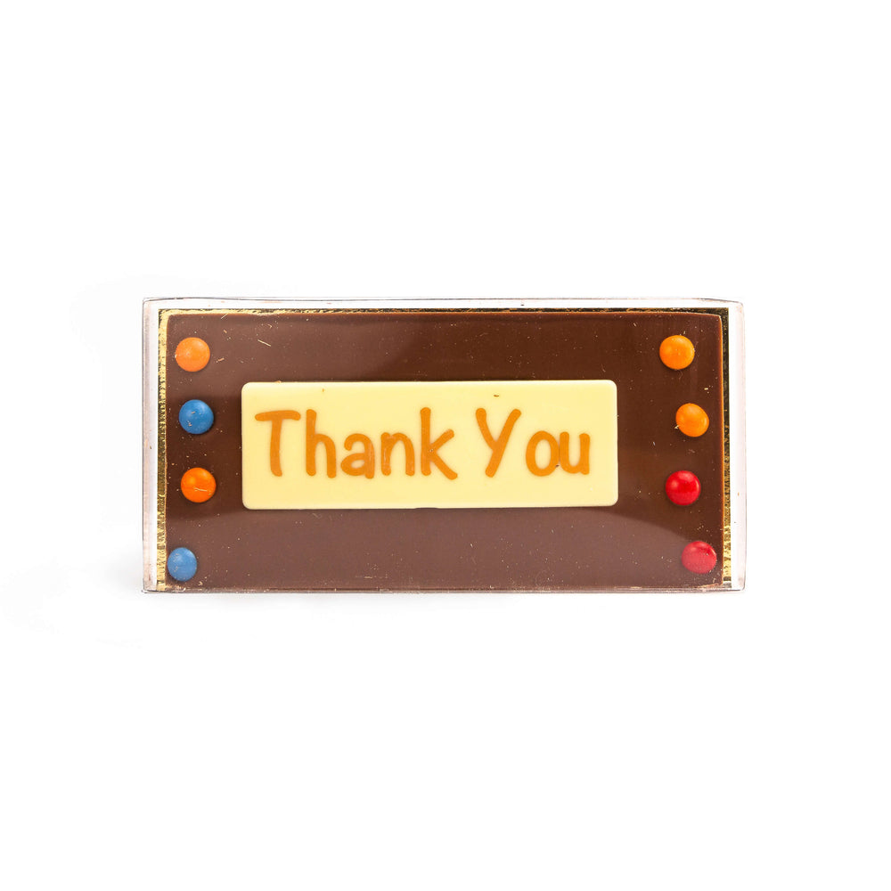 Chez Emily Chocolate Bar: Thank You