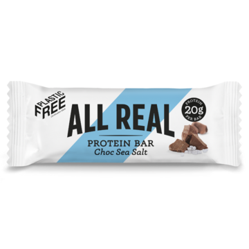 All Real Protein Bar: Chocolate Sea Salt 60g