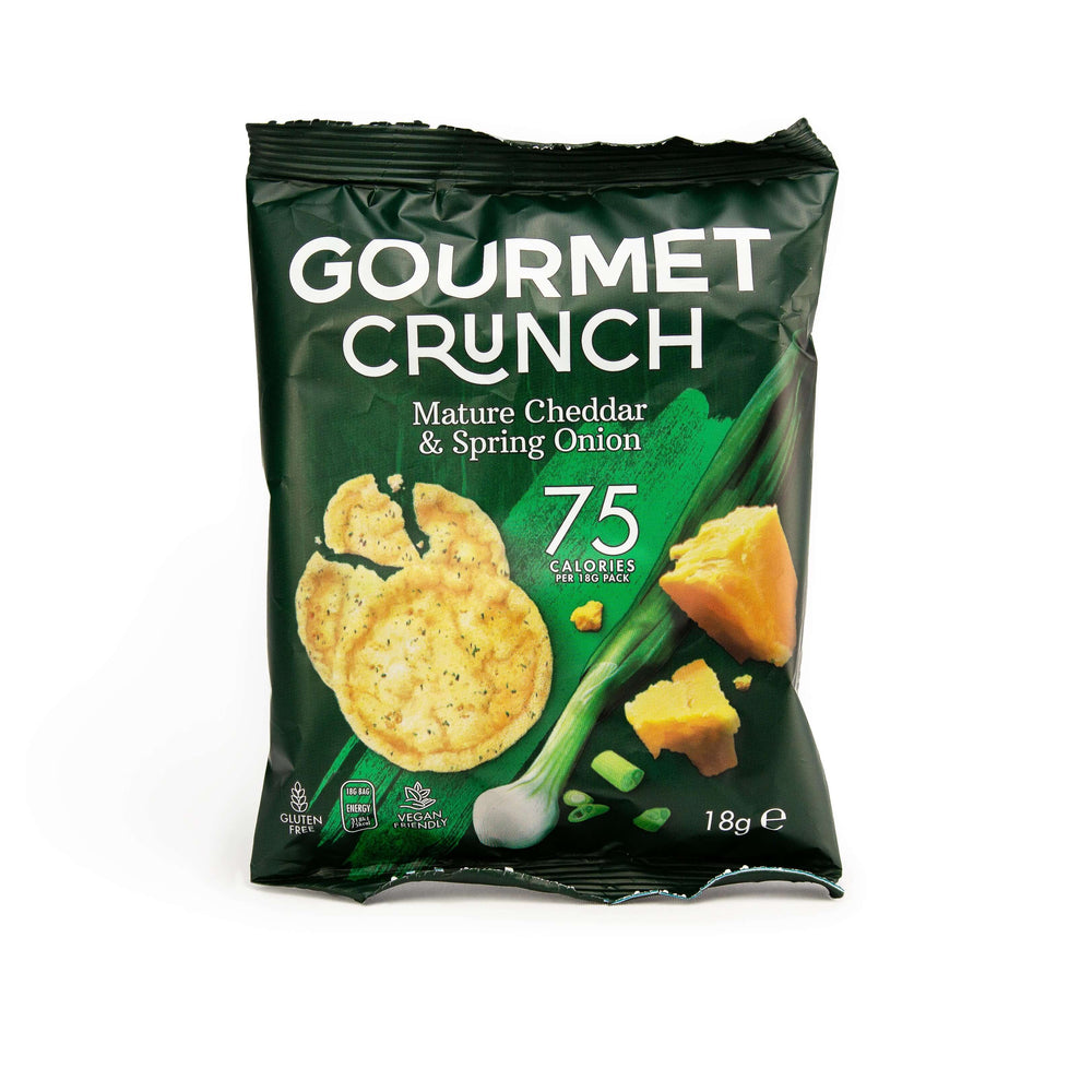 Gourmet Crunch: Mature Cheddar & Spring Onion