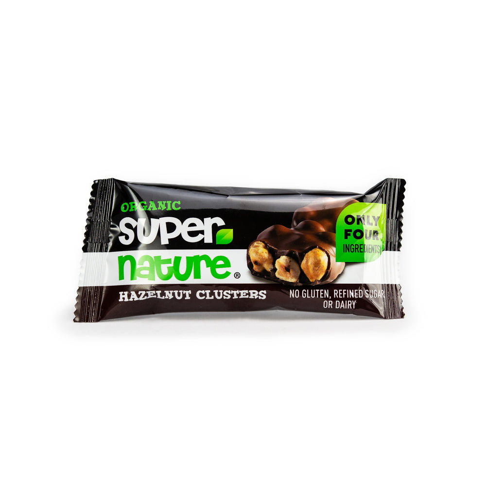 Super Nature Organic: Hazelnut Clusters