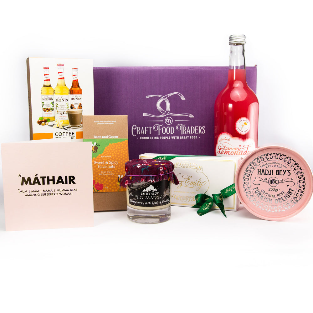 Craft Food Traders Love You Mam Mothers Day Gift Box