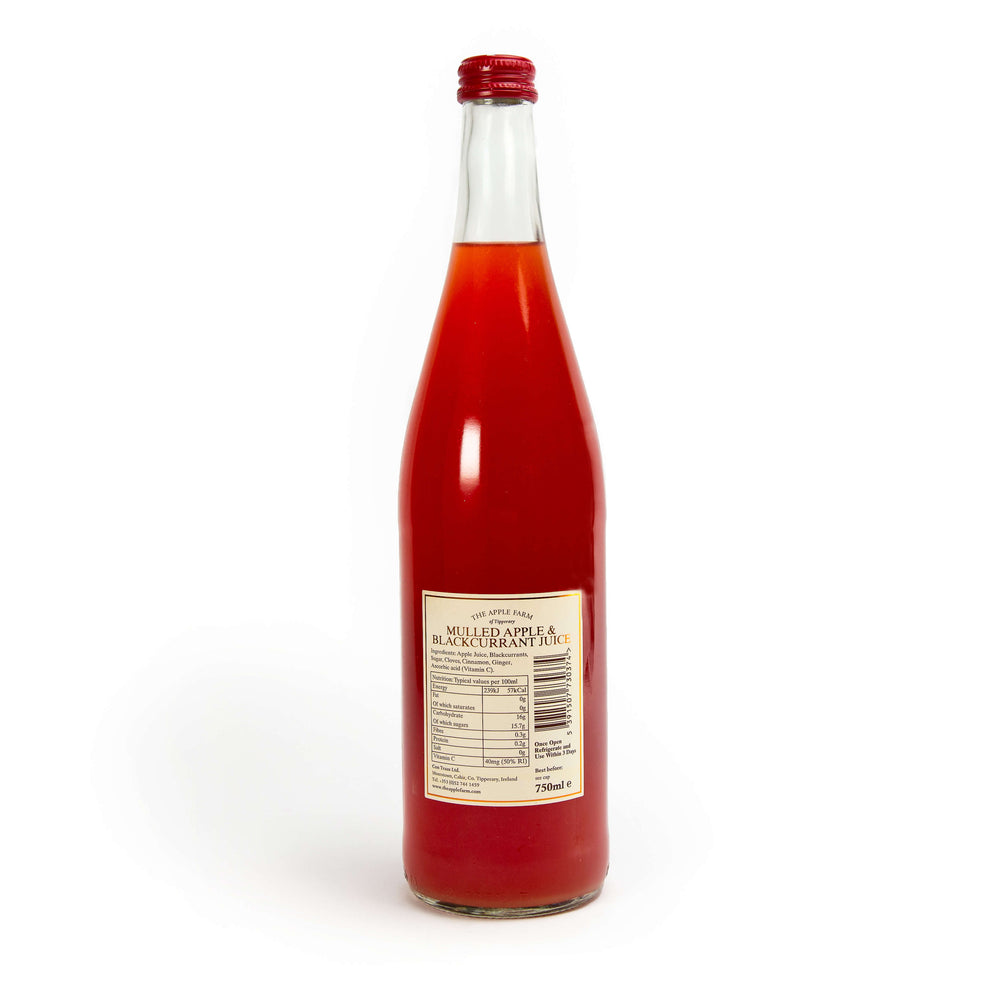 Load image into Gallery viewer, The Apple Farm: Mulled Apple & Blackcurrant juice 750ml