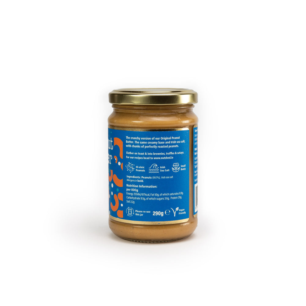 Load image into Gallery viewer, Nutshed Peanut Butter: Very Crunchy 290g