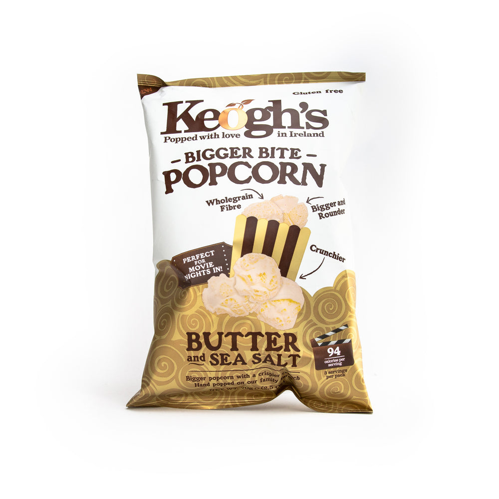 Keoghs Butter & Seasalt Popcorn