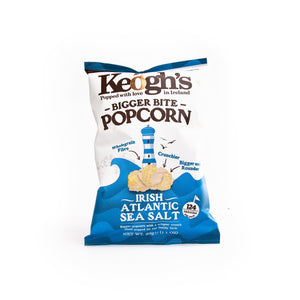 Load image into Gallery viewer, Keoghs Irish Atlantic Sea Salt Popcorn
