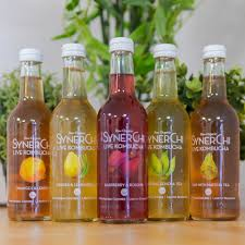 Load image into Gallery viewer, 5 bottles synerchi kombucha