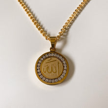 Load image into Gallery viewer, Allah CZ Necklace