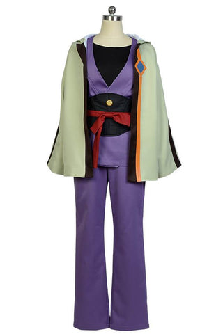 Kabaneri of the Iron Fortress Ikoma Kimono Uniforme Cosplay Costume