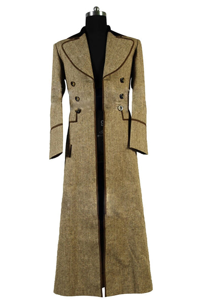 Doctor Who Manteau Long Cosplay Costume