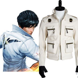 King of Fighters XIV KOF 14 Kyo Blouson Seul Cosplay Costume