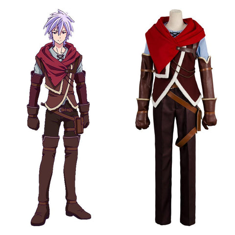 No Game No Life Zero Riku Cosplay Costume