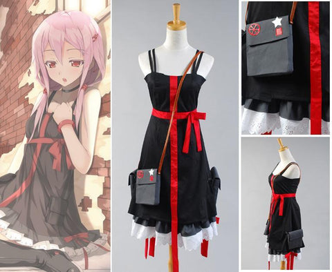 Guilty Crown EGOIST Inori Yuzuriha Robe Cosplay Costume