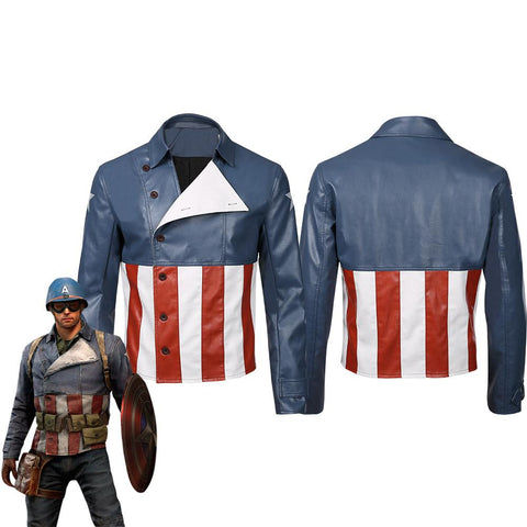 Marvel's Avengers Captain America Manteau Cosplay Costume