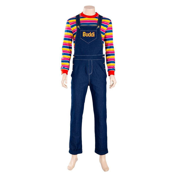 2019 Film Child's Play La Poupée du mal Chucky Adulte Cosplay Costume