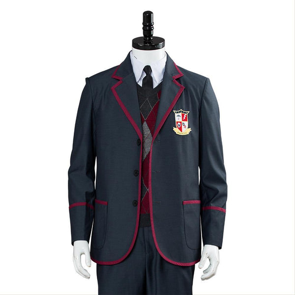 2019 TV Umbrella Academy Uniforme Scolaire Enfant et Adulte Cosplay Costume