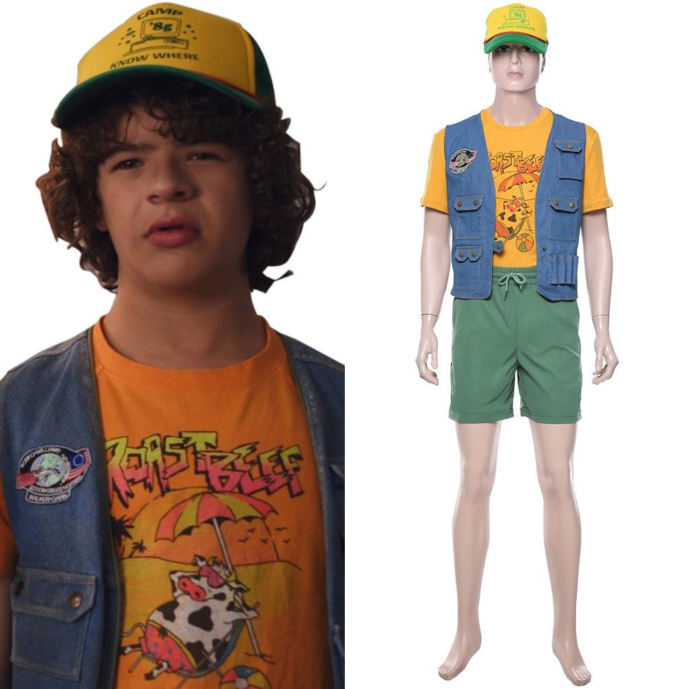 Stranger Things S3 Dustin Henderson Cosplay Costume