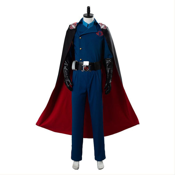 G.I. Joe Héros sans frontières Cobra Commander Cosplay Costume