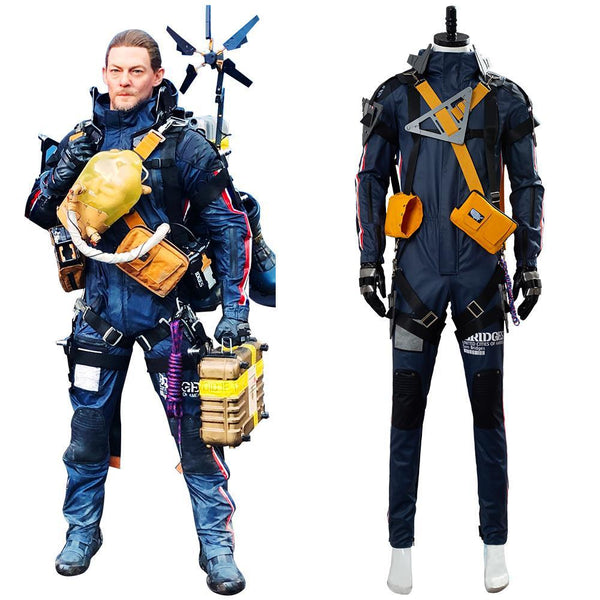 Death Stranding Sam Norman Reedus Cosplay Costume