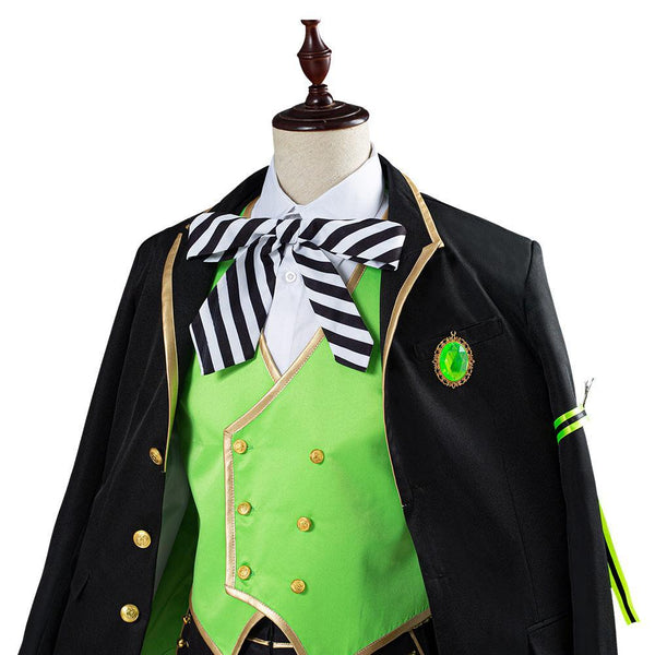 Twisted Wonderland Lilia Vanrouge Uniforme Halloween Carnaval Costumes pour adulte Cosplay Costume