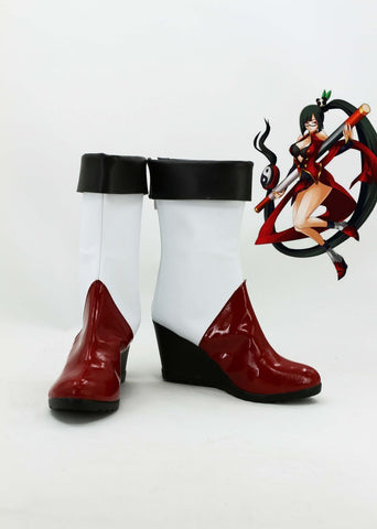 BlazBlue: Calamity Trigger Litchi Faye-Ling Cosplay Chaussures