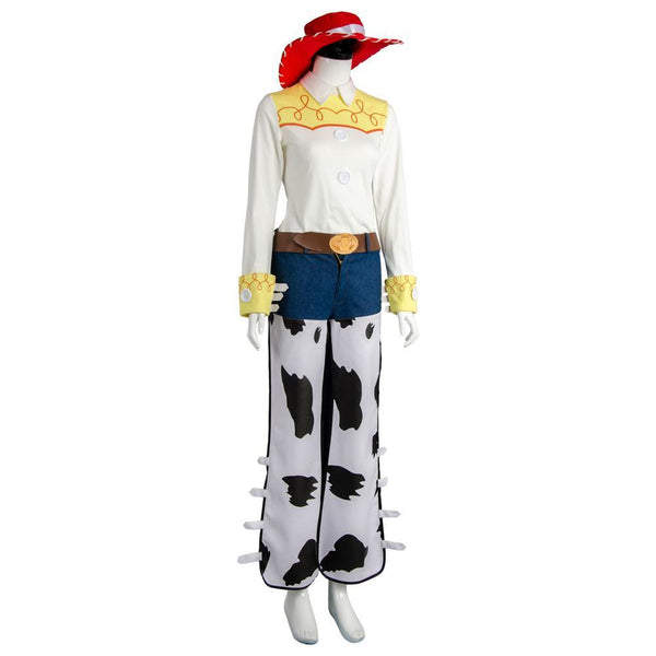 Disney Toy Story 4 Jessie Cosplay Costume