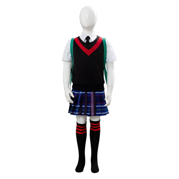 Spider-Man Into the Spider-Verse Peni Parker Costume Enfant Cosplay Costume