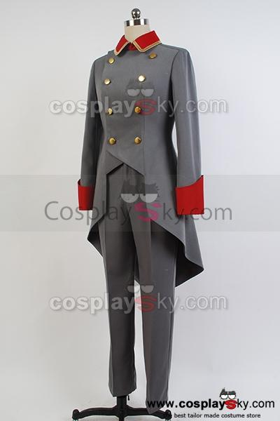 Aldnoah.Zero Trillram Uniforme Cosplay Costume