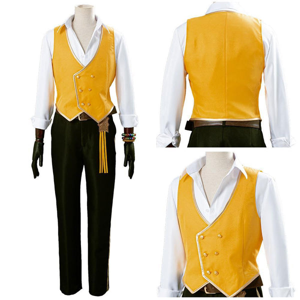 Twisted-Wonderland Leona Kingscholar Uniforme Halloween Carnaval Cosplay Costume