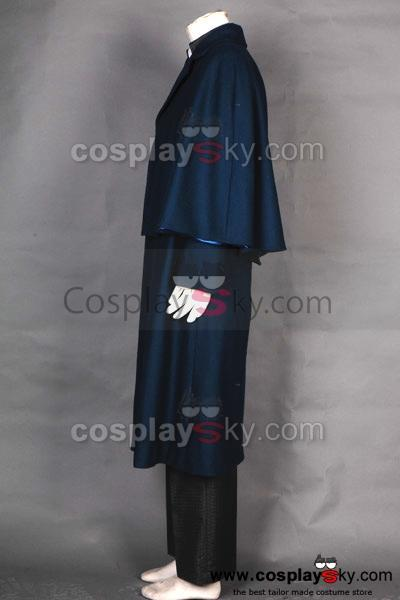 Dark Shadows 2012 Johnny Depp Barnabas Collins Cosplay  Costume