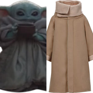 Star Wars The Mandalorian Baby Yoda Cosplay Costume Adulte
