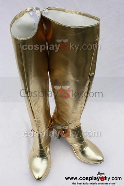Fate stay night Saber Botte Cosplay Chaussures